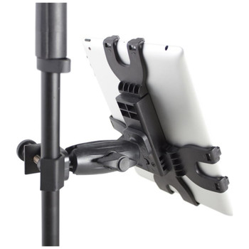 Gator Frameworks GFW-UTL-TBLTCLMP iPad Tablet Tray with Adjustable Clamp Mount