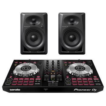 PIONEER DJ DDJ SB3-DJ Controller and PIONEER DJ DM-40 desktop monitors. EMI Audio