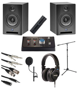 Hip-Hop Recording Starter Bundle. EMI Audio