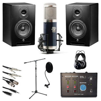 Pro Vocalist Modern Mic Bundle. EMI Audio
