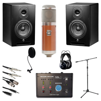 Pro Vocalist Vintage Mic Bundle. EMI Audio