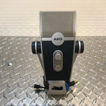 AKG LYRA C44-Retro Multipattern USB Condenser Microphone. EMI Audio