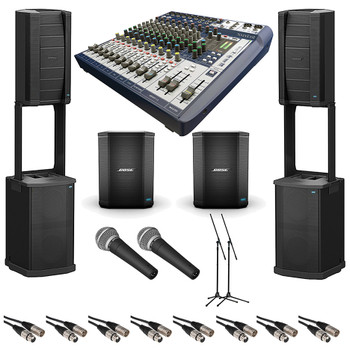 Bose Large Crowd PA System Band Bundle. EMI Audio