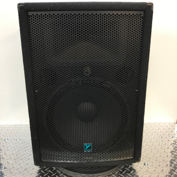"YX15P 300 watts - powered – 1/15"" & 1"" HF driver on 90°x40° horn – FOH/Monitor combo. front view"