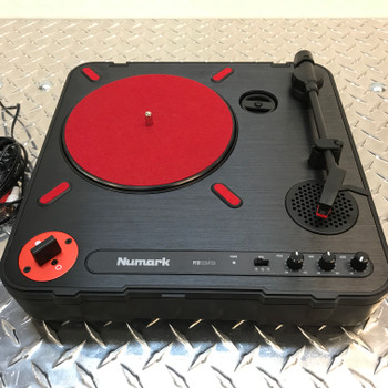 PT01Scratch Battery / AC powered portable turntable