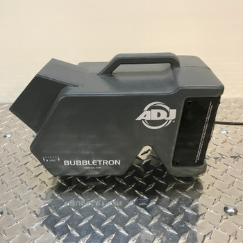 ADJ Bubbletron lightweight bubble machine. EMI Audio