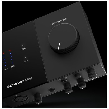 KOMPLETE AUDIO Audio Interface Angle
