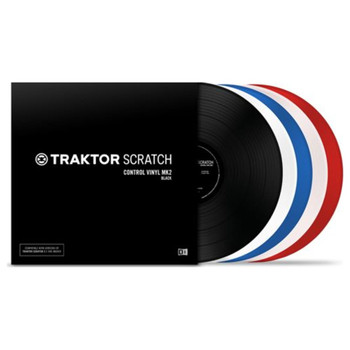 TRAKTOR SCRATCH CONTROL VINYL MK2 All Colors
