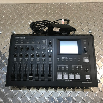 ROLAND VR-4HD HD (USED) #01 - AV Mixer - 4 channel with USB Stream/Record - Quick Shipping Available