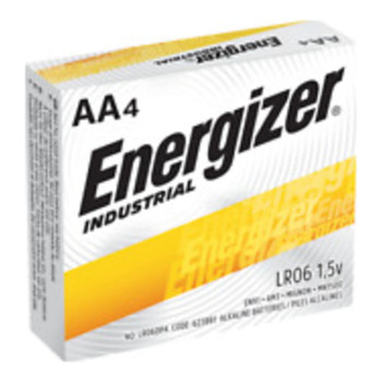 ENERGIZER AA Industrial Batteries - 4 Pack