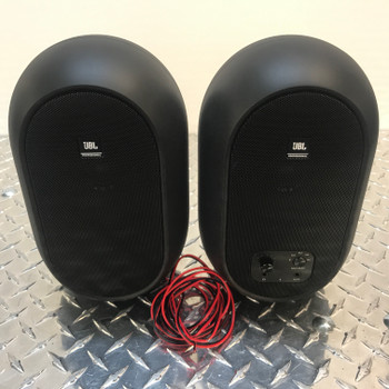 JBL 104SET-BT Compact Reference Monitors front view. EMI Audio