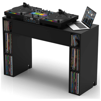 Glorious-Modular-Mix-Station-Black-Complete-DJ-Studio-Desk-Angle-EMI-Audio