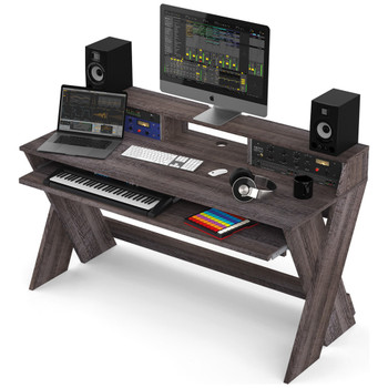 Glorious-Sound-Desk-Pro-Walnut-Complete-DJ-Studio-Desk-Angle-EMI-Audio