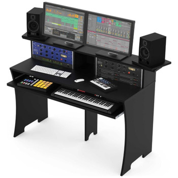 Glorious-Workbench-Black-Pro-DJ-Studio-Desk-Angle-EMI-Audio
