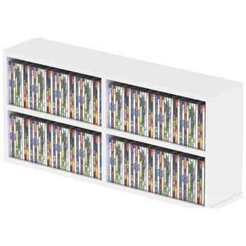 Glorious-CD-Box-180-White-Wall-Mountable-CD-Storage-Box-EMI-Audio