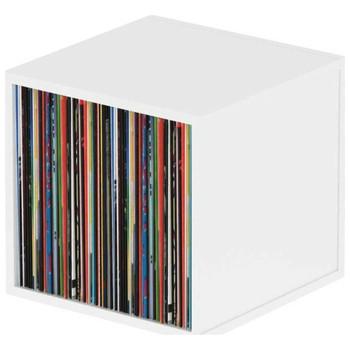 "Glorious-Record-Box-110-White-Storage-Box-for-110-12""-Records-EMI-Audio"