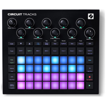 Novation Circuit Tracks Top View