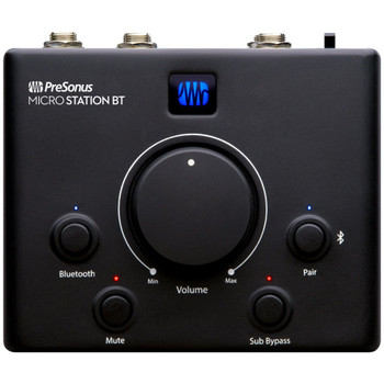 Presonus-MicroStation-BT-2.1-Bluetooth-Monitor-Controller-for-Wirelessly-Managing-Inputs-Top-EMI-Audio