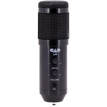 CAD-Audio-U49-USB-Condenser-Studio-Microphone-Front-EMI-Audio