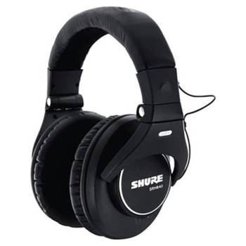 shure-srh840-professional-monitoring-headphones-for-mixing-mastering-dj-music-production-front-left-view