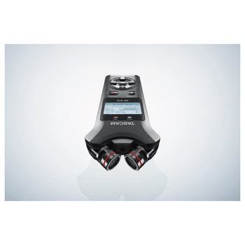 DR-07X Stereo Handheld Digital Audio Recorder and USB Audio Interface view from mic  EMI Audioelements