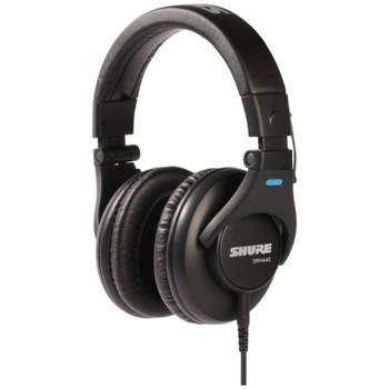 shure-srh440-professional-studio-headphones-left-angle