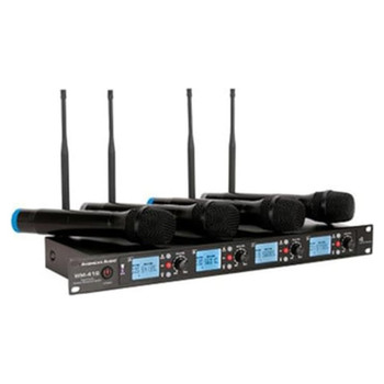 american-audio-wm-419-4-channel-uhf-wireless-microphone-system-receiver-and-included-mic-view