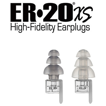 ER20XS High-Fidelity Earplugs color options