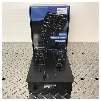RELOOP RMX 10BT 2-channel Bluetooth DJ mixer with box. EMI Audio