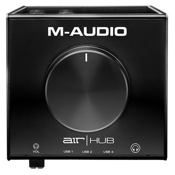 M-AUDIO AIR HUB USB INTERFACE front view. EMI Audio