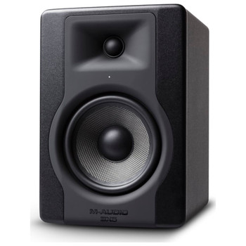 m-audio-bx5-d3-studio-monitor-front-angle