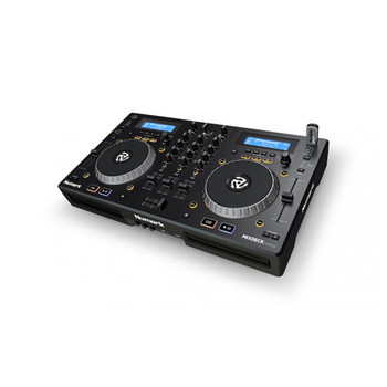 Mixdeck Express Product shot 3 channel CD player and DJ controller