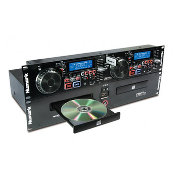 CDN77USB 2 channel CD / MP3 player with Master Tempo, Scratching, Seamless Loop, Pitch Control, Reverse and Brake effects and an Auto-BPM counter