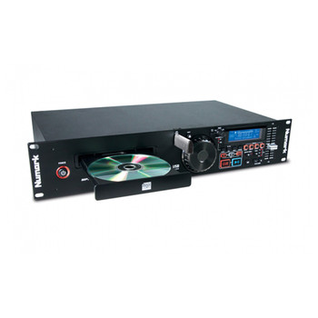 MP103USB CD / USB player with Master Tempo, Scratching, Seamless Loop, Pitch Control, Reverse and Brake effects and an Auto-BPM counter, XLR outputs