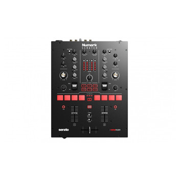 Numark SCRATCH 2 channel DJ mixer with volume and EQ controls, FX and sampler pads