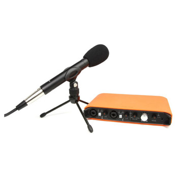 TASCAM TRACKPACK iXR USB interface, mic and stand. EMI Audio