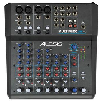 MultiMix 8 USB FX 8-channel USB desktop mixer front view