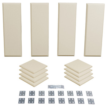 Primacoustic Broadway London 8 acoustic panels in beige