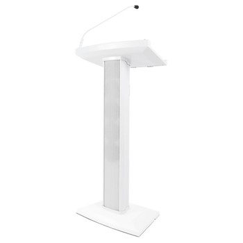 Lectern Active White