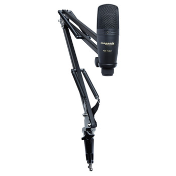 Pod Pack 1 Mic on stand