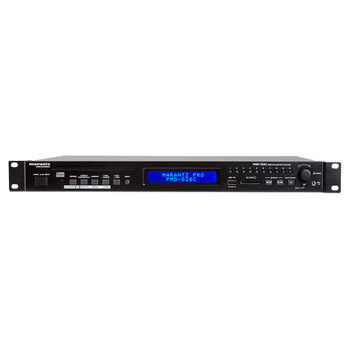 PMD-526C Front of unit with playback functionality, USB and SD card ports