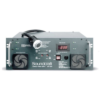 Soundcraft CPS-2000 Replacement Power Supply With Link Cable For MH4 Series Consoles. EMI Audio
