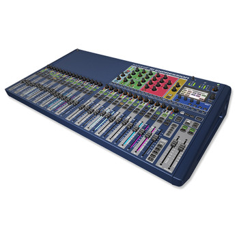 The Soundcraft Si Expression 3 Digital Mixer angled view