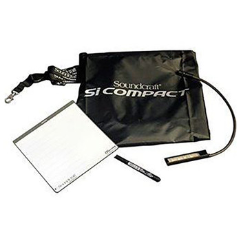 Soundcraft Expression 3 + Performer 3 Dust Cover, 2 x Gooseneck, Scribble pad and Pen EMI Audio