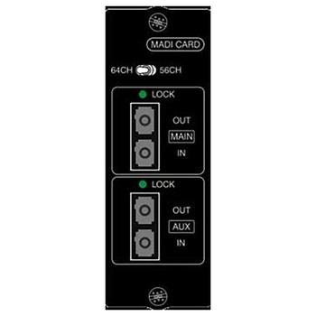 Soundcraft Multi mode Optical MADI Card EMI Audio