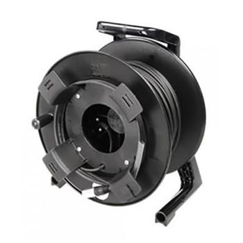 "Soundcraft 150m 50/125 multimode optical fibre with ""Fibrecast"" connectors, supplied on reel.EMI Audio"
