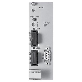 Soundcraft CSB Optical MADI HD card Single mode EMI Audio