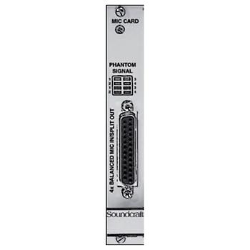 SOUNDCRAFT D21M MICROPHONE CARD MODULE ViO/D21 Mic In. EMI Audio