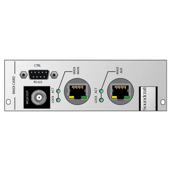 Soundcraft ViSB Cat5 MADI HD card EMI Audio