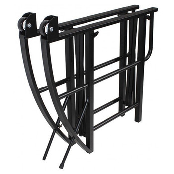 SOUNDCRAFT EZ-tilt lifting and rolling stand for audio and lighting consoles folded EMI Audio